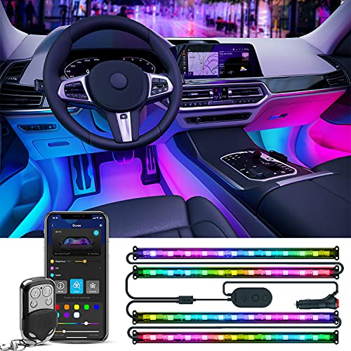 Top 10 Inside Car Lights That Go with Music - Automotive Neon Accent Light Tubes