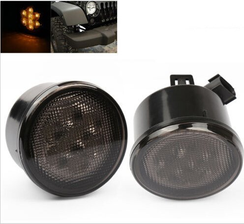 Top 10 Axial Smoked LED Amber Turn Signals - Automotive Headlight Assemblies