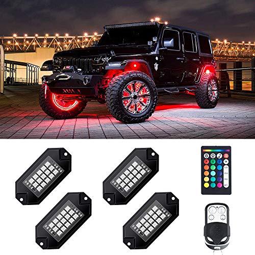 Top 10 Rock Lights Jeep Wrangler - Automotive Neon Accent Light Kits
