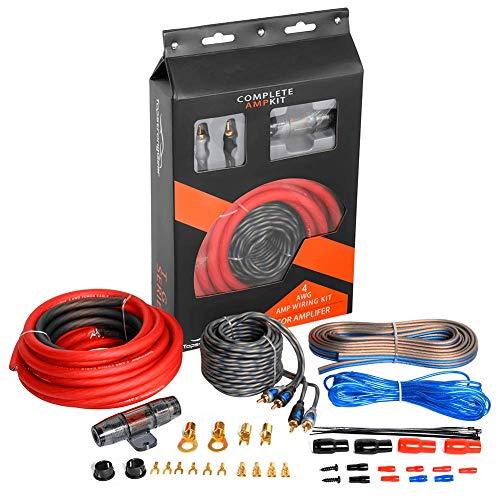Top 10 Amp Wiring Kit 4 Gauge Copper - Car Amplifier Wiring Kits