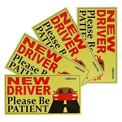 Top 10 New Driver Magnet for Car Funny - Bumper Stickers, Decals & Magnets