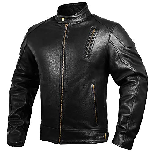 Top 10 Leather Motorcycle Jacket Men - Powersports Protective Jackets
