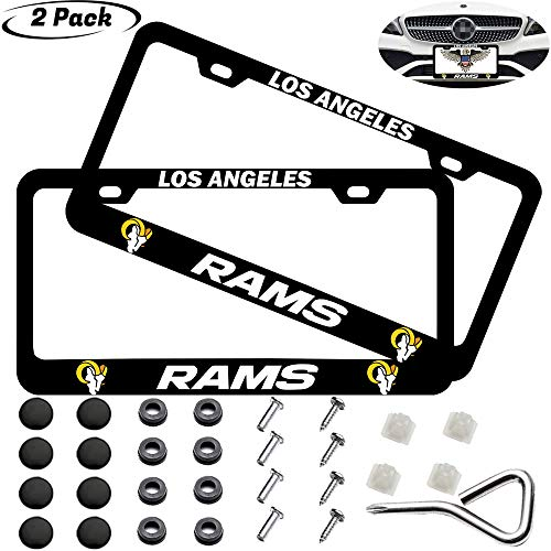 Top 10 Rams Car Accessories - License Plate Frames
