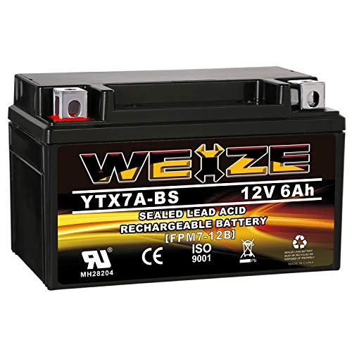 Top 9 50CC Scooter Battery - Powersports Batteries