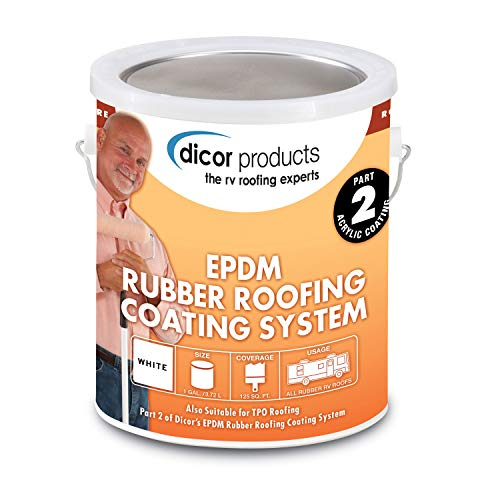 Top 7 Dicor EPDM Rubber Roofing Coating System - RV Roof Coating