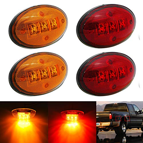 Top 10 Dually Fender Marker Lights - Automotive Side Marker Light Assemblies