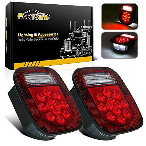 Top 8 TJ Tail Lights - Automobile Brake & Tail Light Assemblies, Parts & Accessories