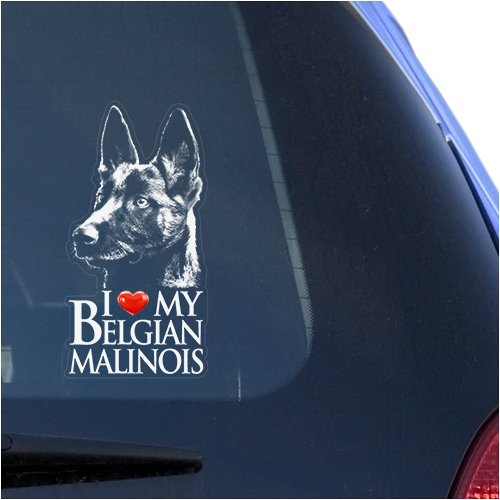 Top 9 Belgian Malinois Decal - Bumper Stickers, Decals & Magnets