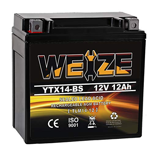 Top 10 YTX14-BS AGM - Powersports Batteries
