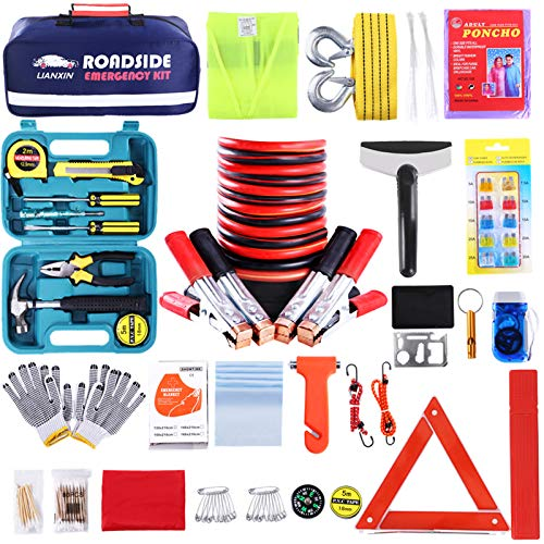 Top 10 Emergency Roadside Kit for Car with Flares - Automotive Safety Kits