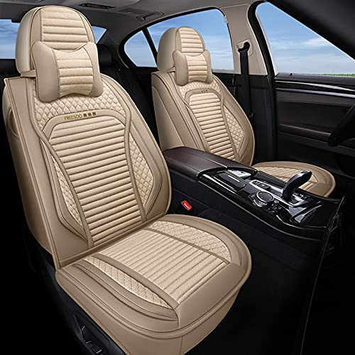 Top 10 Beige Leather Seat Covers for Cars Full Set - Automotive Seat Cover Accessories