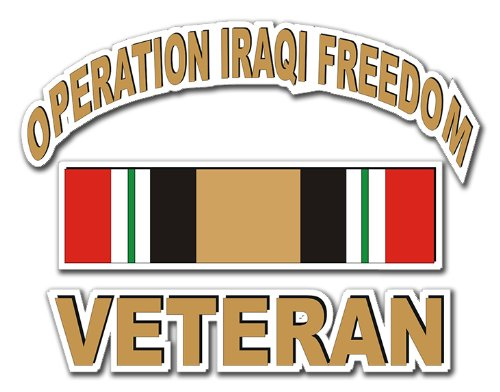 Top 5 Operation Iraqi Freedom Decal - Bumper Stickers, Decals & Magnets