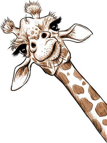 Top 10 Giraffe Computer Sticker - Bumper Stickers, Decals & Magnets