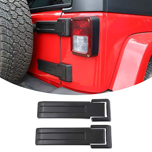 Top 8 Tailgate Hinge Cover for 2007-2017 Jeep JK Wrangler - Truck Beds & Tailgates