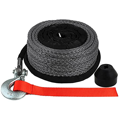Top 10 Synthetic Winch Rope 1/4 - Towing Winch Cables