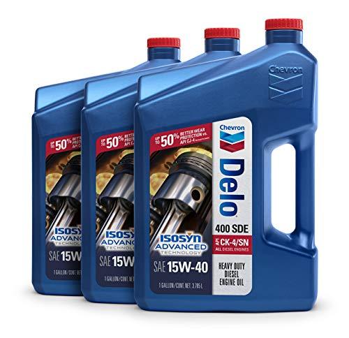 Top 6 Delo Oil 15W40 Diesel 2.5 Gallons - Motor Oils