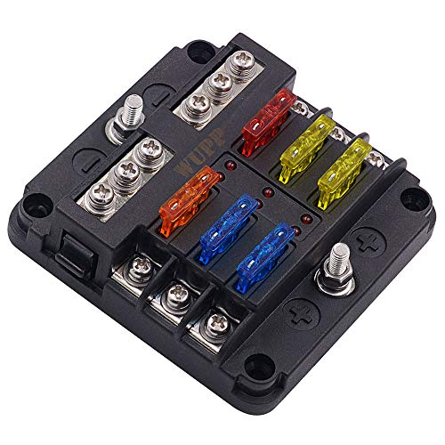 Top 8 Fuse Box Battery Terminal - Automotive Replacement Fuse Boxes