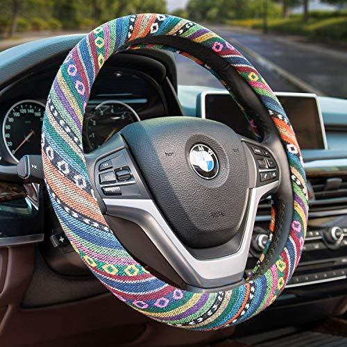 Top 10 Steering Wheel Cover for Women Boho - Steering Wheel Accessories