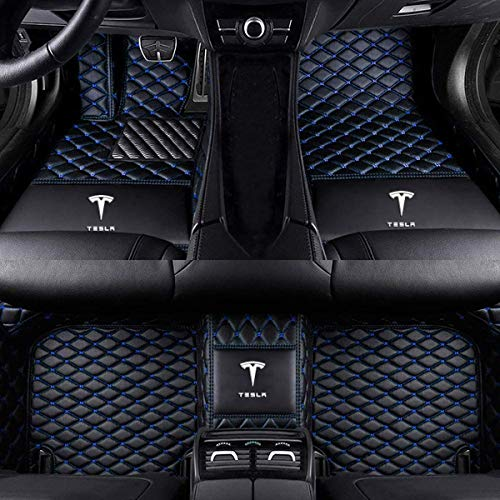Top 10 Tesla Model 3 Floor Mats Blue - Automotive Floor Mats