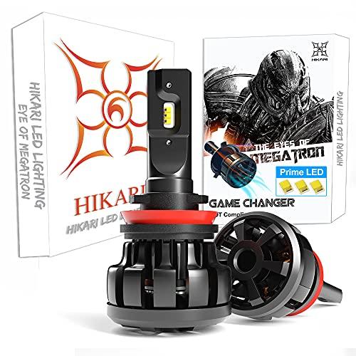 Top 10 HIKARI H11 LED Bulb - Headlight & Taillight Conversion Kits