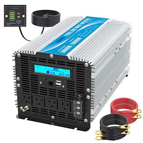 Top 10 GIANDEL Pure Sine Wave - Power Inverters