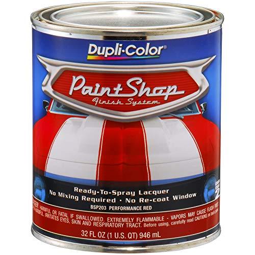 Top 8 Duplicolor Paint Shop Red - Automotive Body Paint