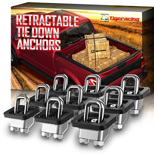 Top 10 Retractable Tie Down Anchors for Truck Bed - Truck Tie Downs & Anchors