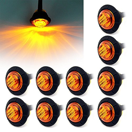 Top 10 Amber LED Lights For Trucks - Automotive Side Marker Light Assemblies