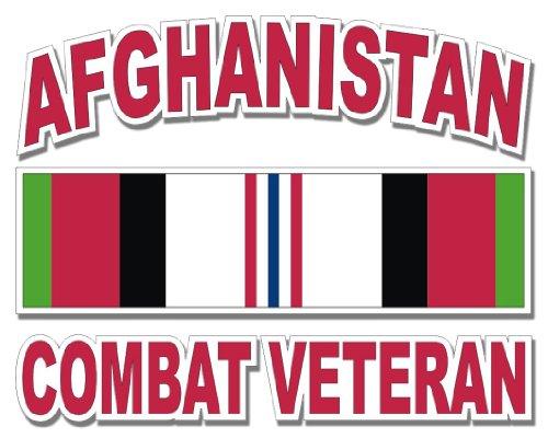 Top 8 Afghanistan Combat Veteran Sticker - Bumper Stickers, Decals & Magnets