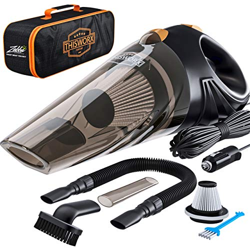 Top 10 Car Vacuum Cleaner Cordless Rechargeable - Vacuums