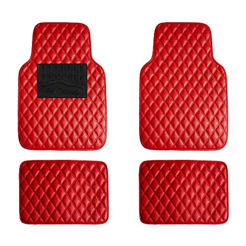 Top 10 Red Floor Mats for Cars - Automotive Floor Mats