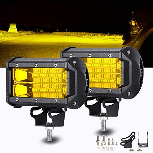 Top 10 Yellow Led Fog Lights Flood Beam - Automotive Light Bars