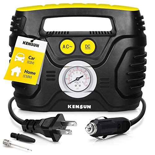Top 10 Portable Air Compressor Pump for Car 12V DC and Home 110V AC - Wheel & Tire Air Compressors & Inflators