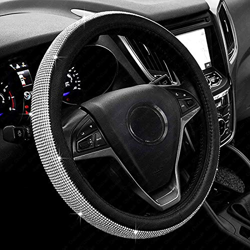 Top 10 Bling Car Accessories for Women Interior - Steering Wheel Accessories