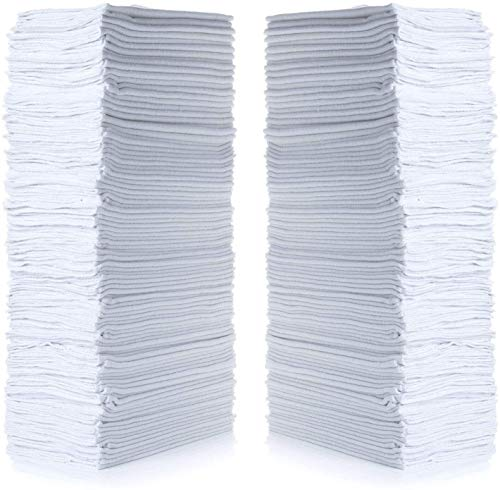 Top 8 Shop Towels WHITE - Household Cleaning Tools