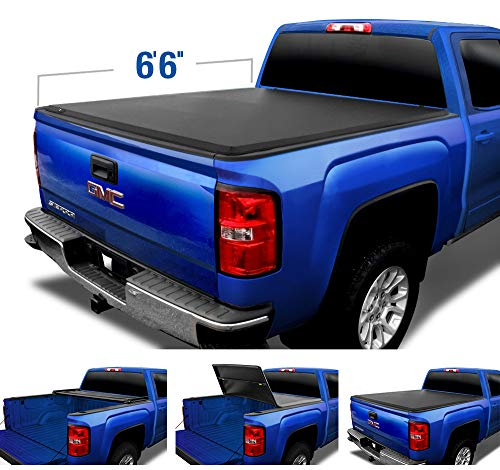 Top 10 Tri-Fold Hard Truck Bed Tonneau Cover 2014-2018 Chevy Silverado - Truck Tonneau Covers