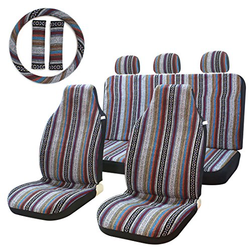 Top 10 Bohemian Seat Covers for Cars Full Set - Automobile Interior Sets