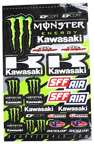 Top 6 Monster Energy Sticker - Powersports Decals, Magnets & Stickers