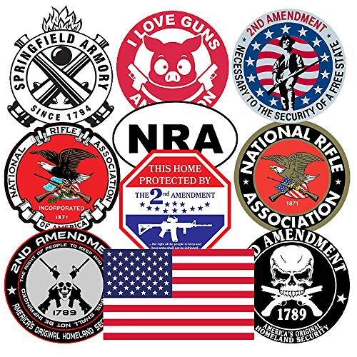 Top 10 Gun Stickers Decals - Bumper Stickers, Decals & Magnets