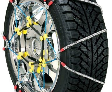 Security Chain Company SZ134 Super Z6 Cable Tire Chain for Passenger Cars, Pickups, and SUVs - Set of 2