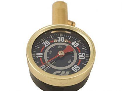 Shrader Tire Gauge, 0-60 PSI Campbell Hausfeld DA552400
