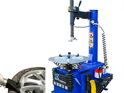 XK 1.5 HP Tire Changer Wheel Changers Single Machine Rim Clamp 950 w/Air Bead Blaster Function and 12 Month Warranty 110V