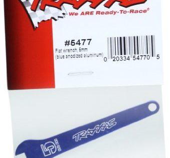 Traxxas 5477 Blue Aluminum 5mm Flat Wrench