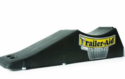 Trailer-Aid Tandem Tire Changing Ramp, The Fast and Easy Way To Change A Trailer's Flat Tire, Holds up to 15,000 Pounds, 4.5 Inch Lift Black