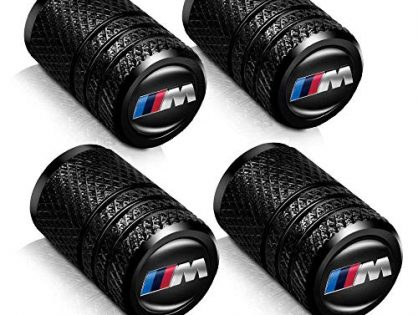 Baoxijie 4 Pcs Metal Car Wheel Tire Valve Stem Caps for BMW X1 X3 M3 M5 X1 X5 X6 Z4 3 5 7Series Logo Styling Decoration Accessories