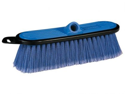 Mr. LongArm 0405 Soft Flow-Thru Brush  Blue