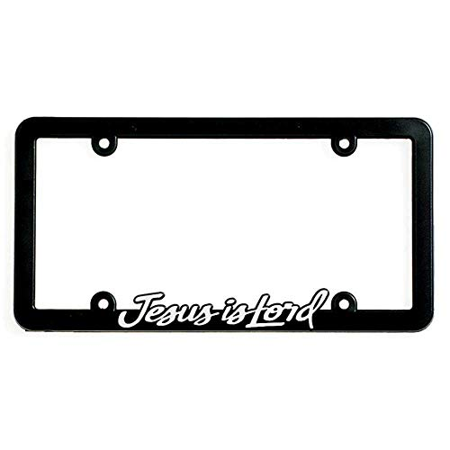 Top 8 Jesus is Lord License Plate Frame - License Plate Frames