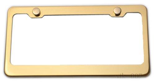 Top 10 Gold License Plate Frame - License Plate Frames