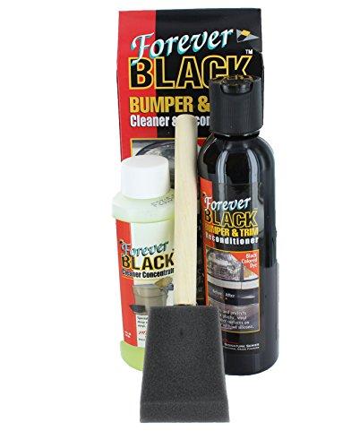 Top 10 Forever Black Bumper & Trim Kit - Automotive Plastic Care Products