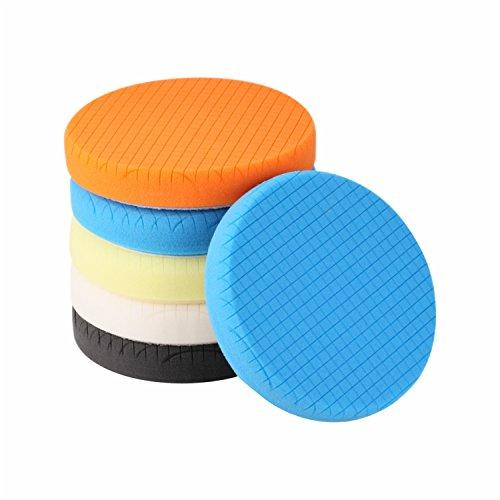 Top 9 Foam Polishing Pad 6 inch - Body Repair Buffing & Polishing Pads